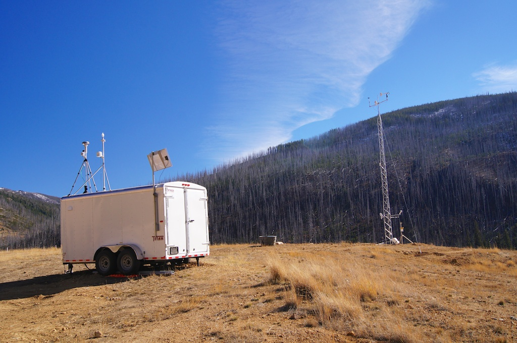 MET Tower and Trailer.