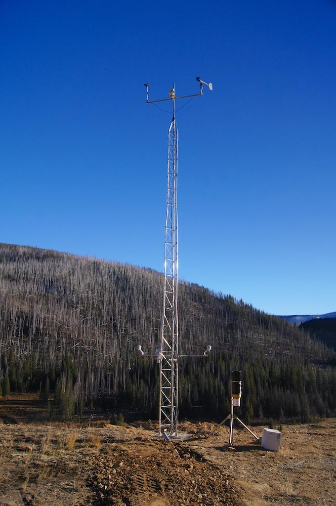 Stibnite 10 Meter tower